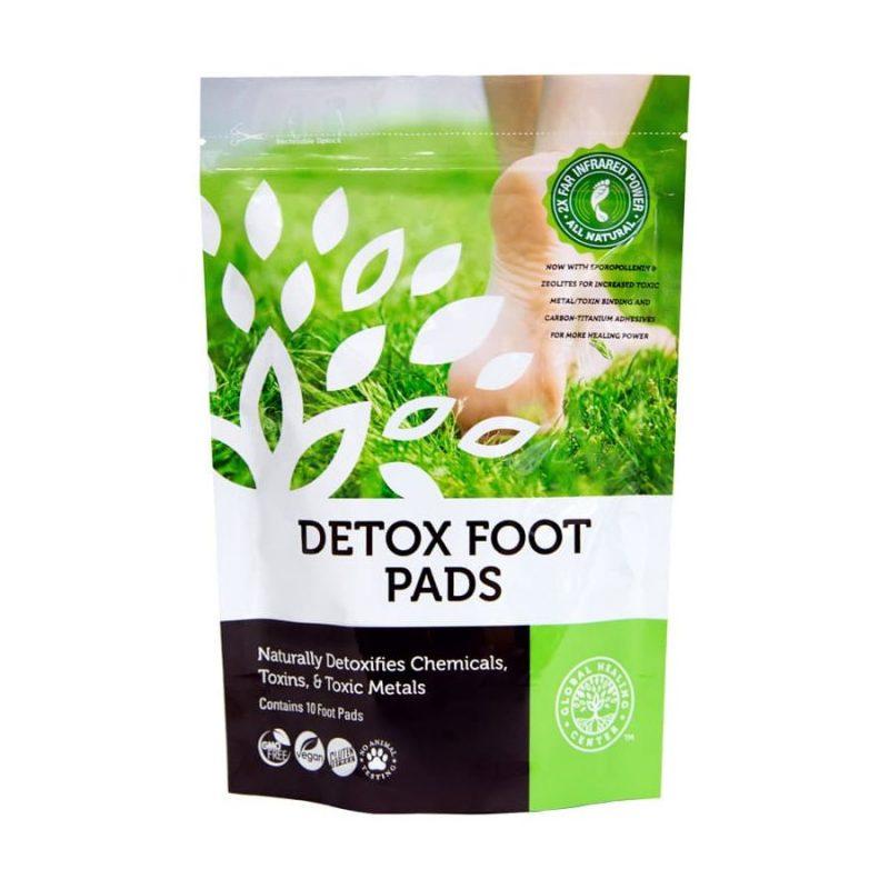 Global Healing Center Foot Pads 1