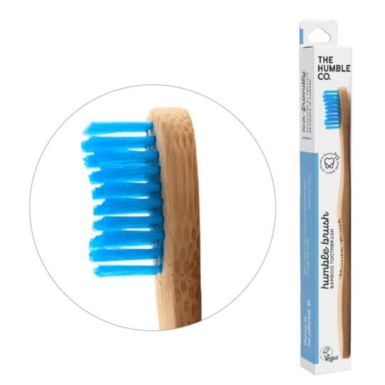 Humble Brush Ekologisk Tandborste, Blå 1