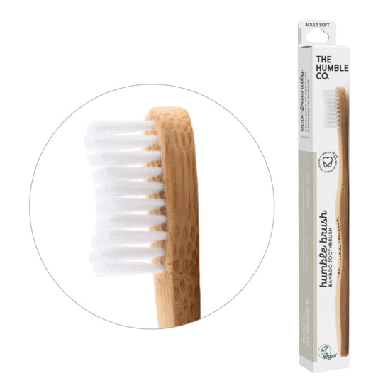 Humble Brush Ekologisk Tandborste, Vit