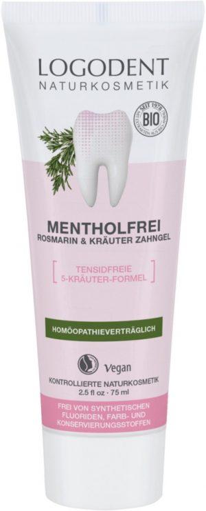 Logodent Rosmarin/Mentolfri Tandkräm