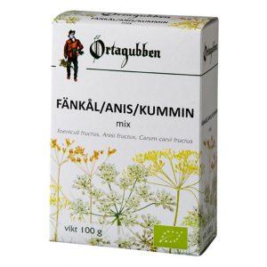 Ekologisk Fänkål / Anis / Kummin