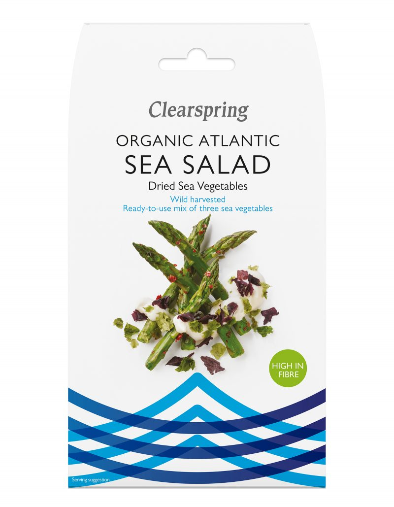 RAW Ekologisk Sea Salad 25 g 1