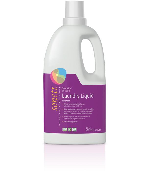 Sonett flytande tvättmedel lavendel 1