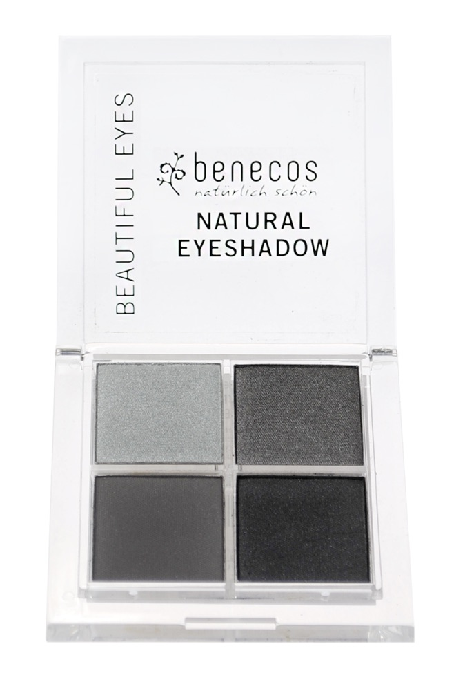 Benecos - Natural Quattro Eyeshadow - Smokey Eyes, 8 g 1