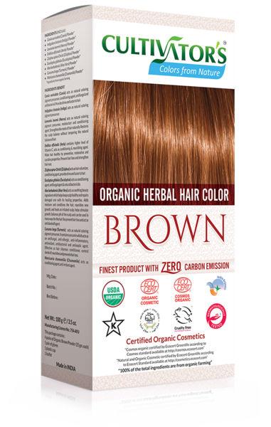 Ekologisk Hårfärg Brown, 100 g