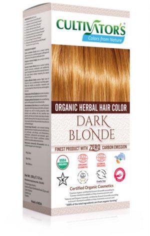 Ekologisk Hårfärg Dark Blonde, 100 g