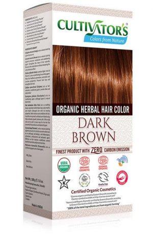 Ekologisk Hårfärg Dark Brown, 100 g