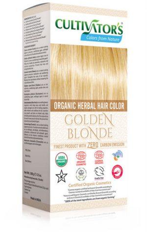 Ekologisk Hårfärg Golden Blonde, 100 g