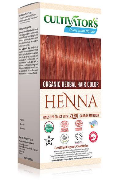 Cultivator's - Ekologisk Hårfärg Henna, 100 g 1