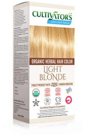 Ekologisk Hårfärg Light Blonde, 100 g