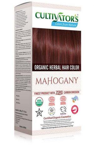 Ekologisk Hårfärg Mahogany, 100 g