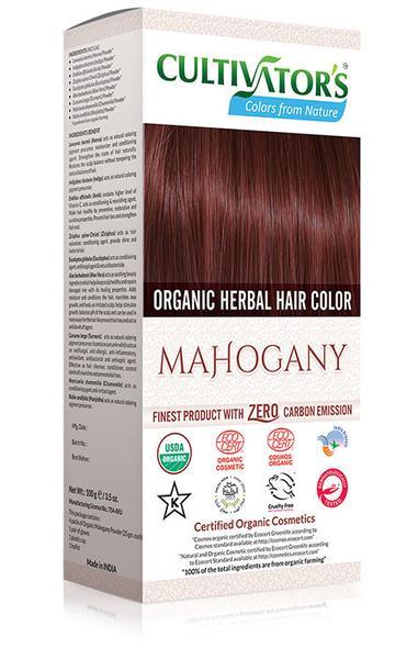 Cultivator's - Ekologisk Hårfärg Mahogany, 100 g 1