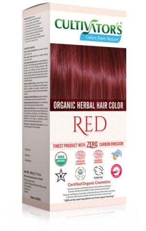 Ekologisk Hårfärg Red, 100 g
