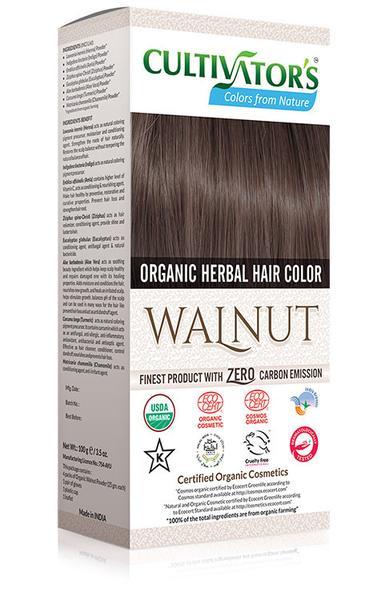 Cultivator's - Ekologisk Hårfärg Walnut, 100 g 1