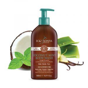 Coconut Mint Body Wash, 500 ml
