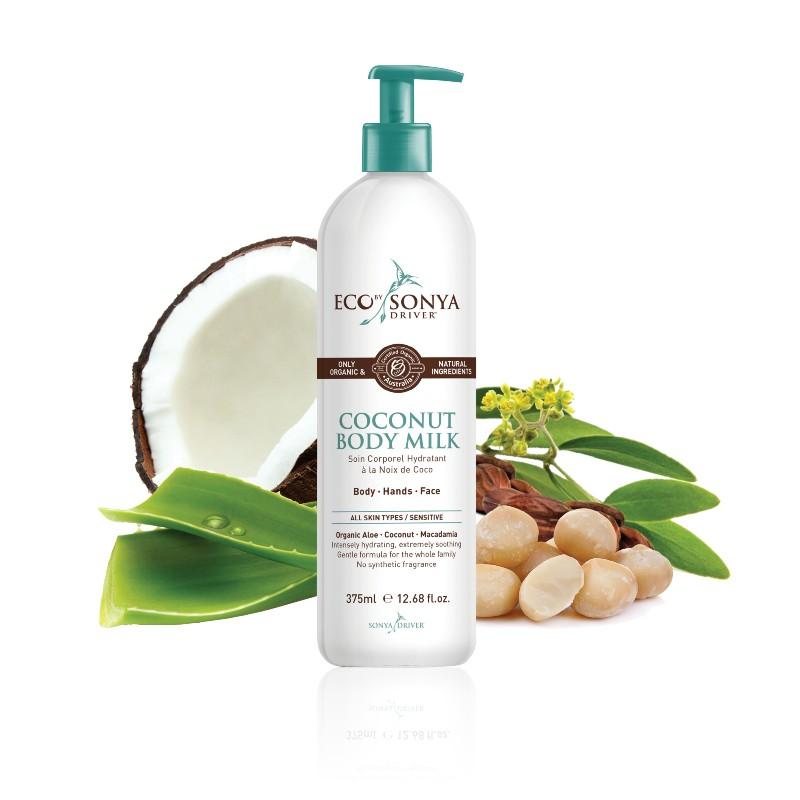 Eco by Sonya - Coconut Body Milk, 375 ml 1