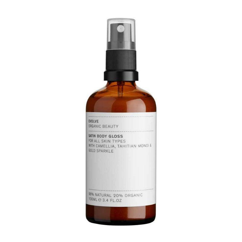 Evolve - Satin Body Gloss - Guldskimmer för hud & hår! 1