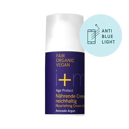 i+m - AGE PROTECT - Nourishing Cream Rich Avocado Argan, 30 ml 1