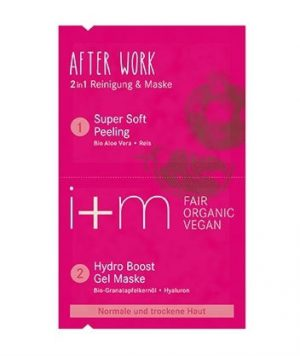After Work 2in1 Mask Pomegranate Aloe, 2×4 ml