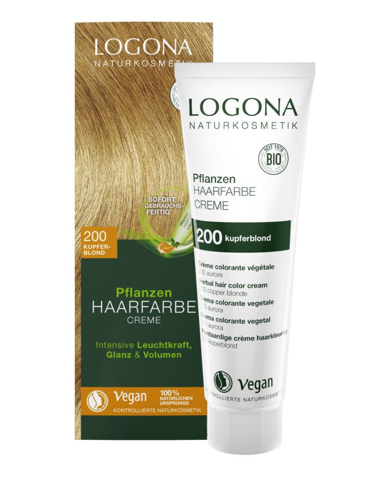 Logona - Ekologisk Hårfärg Color Creme 200 Kopparblond, 150 ml 1
