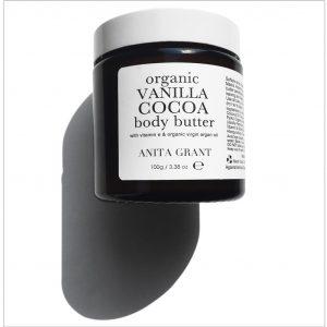 Anita Grant Organic Vanilla Cocoa Body Butter 100g