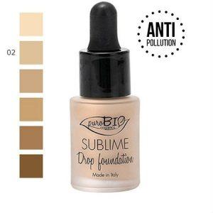Sublime Drop Foundation 02, 19 g
