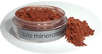 c/o mineralsmink - Mineral Rouge Solglöd 1