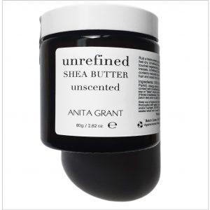 Anita Grant Unrefined Shea Butter in a Jar 80 g