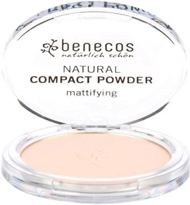 Benecos - Compact Powder Mattifying - Fair, 9 g 1