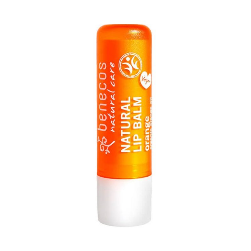 Benecos - Natural Lip Balm - Orange, 4.8 g 1