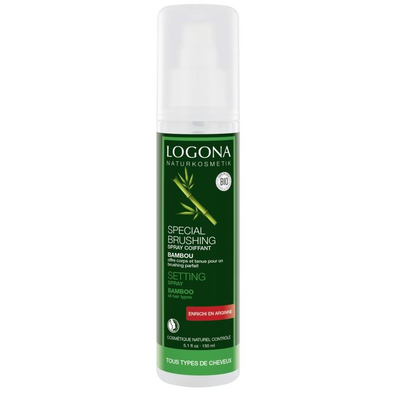 Logona - Värmeskyddande Fönspray Sidenglans Bambu, 150 ml 1