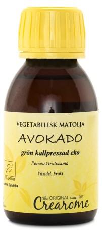 Ekologisk Grön Avocadoolja Kallpressad