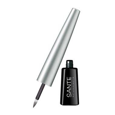 SANTE - Ekologisk Flytande Eyeliner Dipliner Black Glamour, 3 ml 1