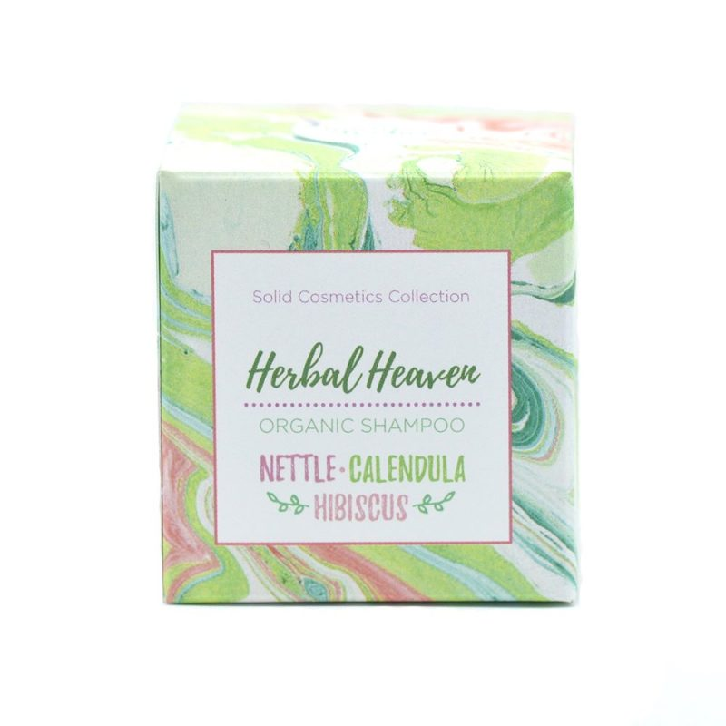 Grön Lycka - Herbal Heaven Örtschampo - 85 g 1