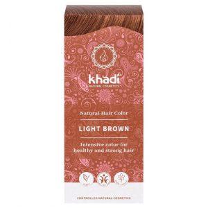 Naturlig Örthårfärg Light Brown – Ljusbrun, 100 g
