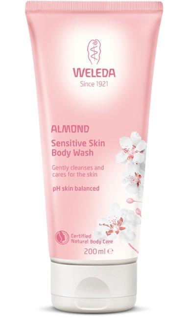 Weleda - Almond Sensitive Body Wash för känslig hud, 200 ml 1
