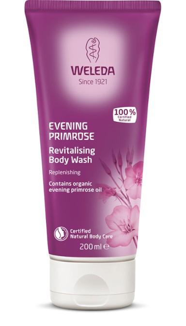 Weleda - Evening Primrose Revitalising Body Wash för torr och mogen hud, 200 ml 1
