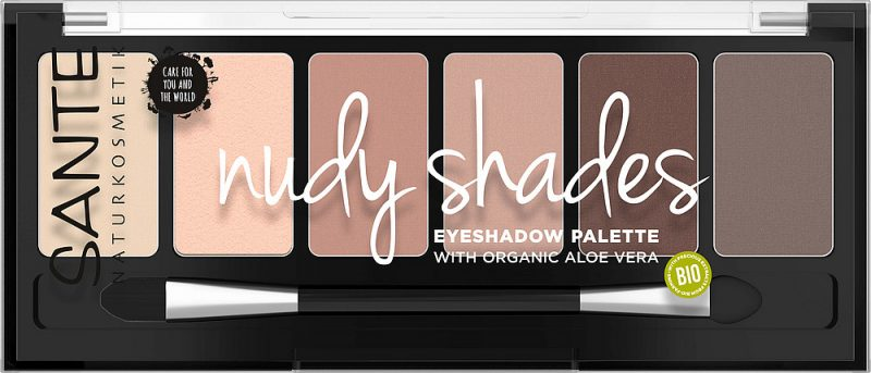 SANTE - Ögonskugga Palette Nudy Shades, 6 g 1