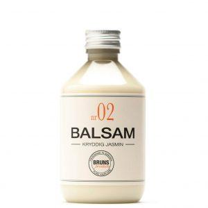 Balsam Nr 02 Kryddig Jasmin för Torrt hår / Tjockt & Lockigt hår / Balsammetoden