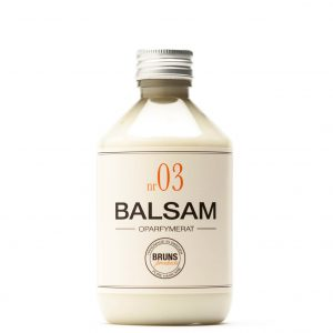 Balsam Nr 03 Oparfymerat för Känslig Hårbotten / Alla Hårtyper / Barn / Balsammetoden – 330 ml