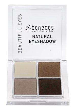 Natural Quattro Eyeshadow – Coffee & Cream, 8 g