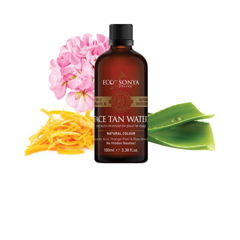 Eco by Sonya - Face Tan Water, 100 ml 1
