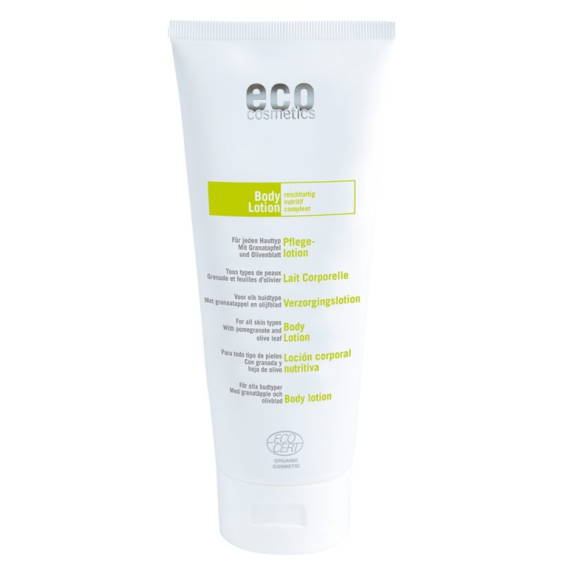 Eco Cosmetics - Fuktighetsgivande Bodylotion Vinblad & Granatäpple, 200 ml 1