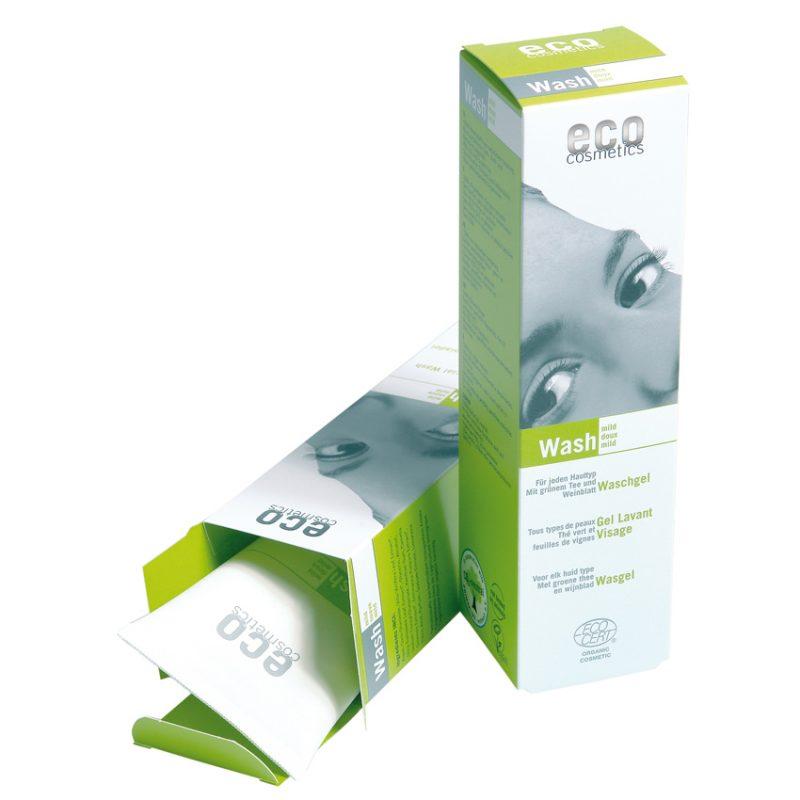 Eco Cosmetics - Wash Ansiktstvätt med Grönt Te (Fet hy), 125 ml 1