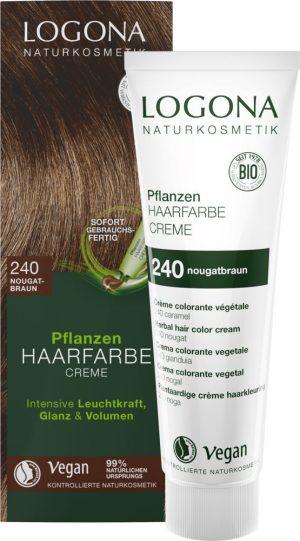 Ekologisk Hårfärg Color Creme Nougatbrun (240), 150 ml