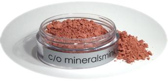 c/o mineralsmink - Mineral Rouge Gammelrosa 1