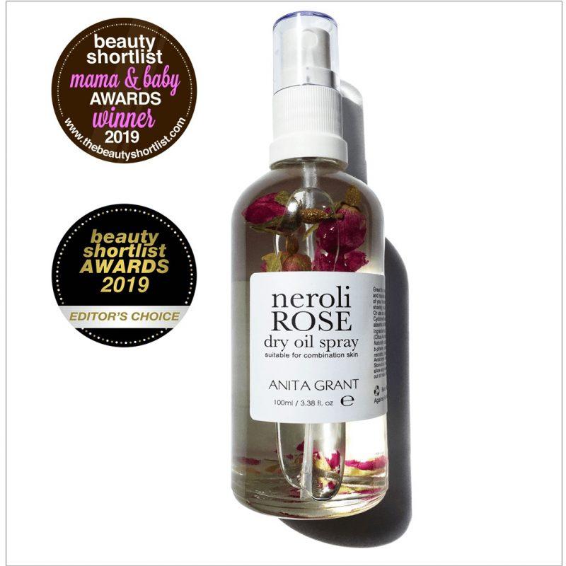 Anita Grant Neroli Rose Dry Oil Spray 50 ml 1