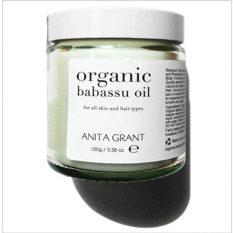 Anita Grant Organic Babassu Oil 100 ml 1