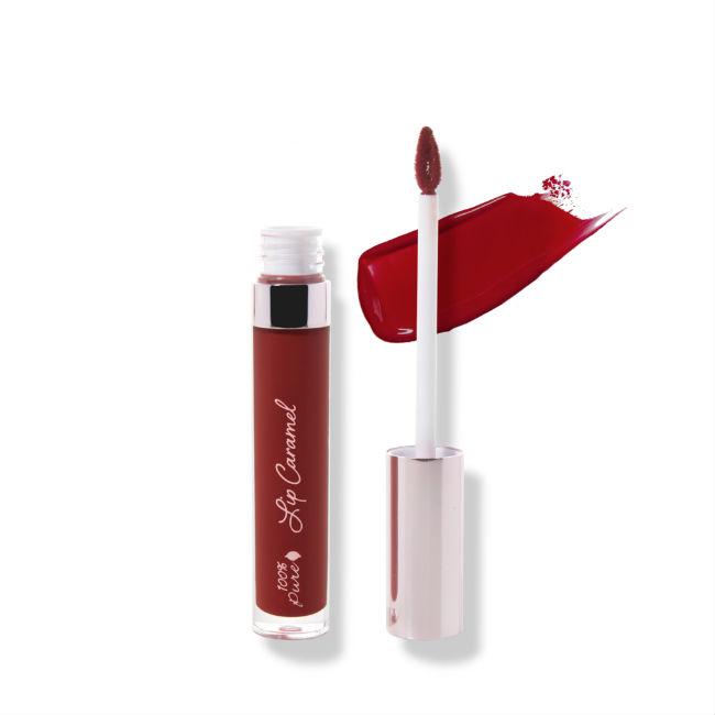 100% Pure - Lip Caramel Red Velvet 1