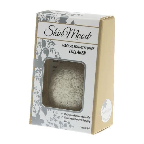 Skin Mood - Konjac Sponge Collagen 1